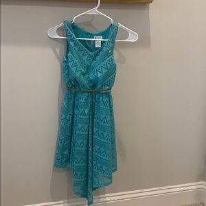 NEVER WORN Emily West teal dress